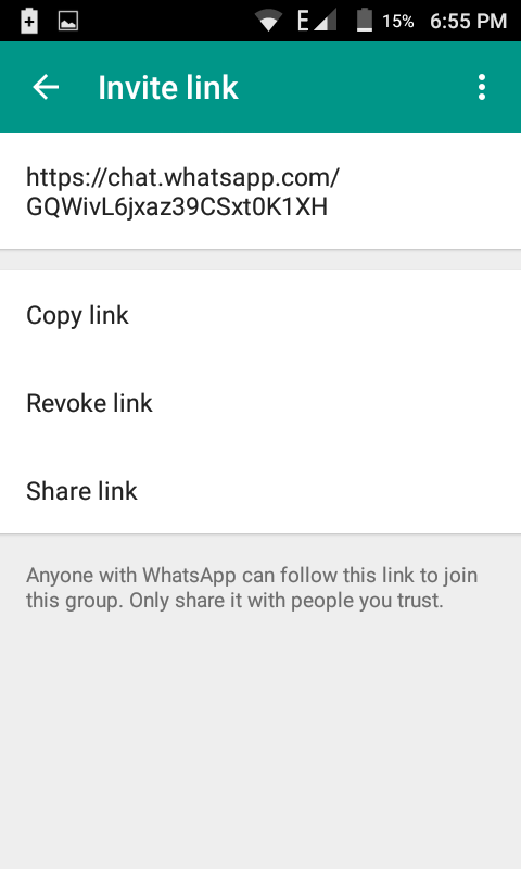 How To Create A Link Of WhatsApp Group To Invite Peoples | Satvir