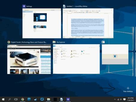 Virtual Desktop In Windows 10